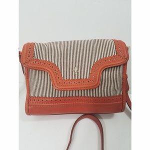 Cole Haan Pinstripe Crossbody bag